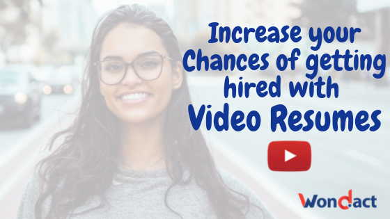 Video Resume Tips to Choose the Job You Want